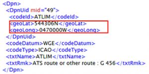 AIXM 4.5 example